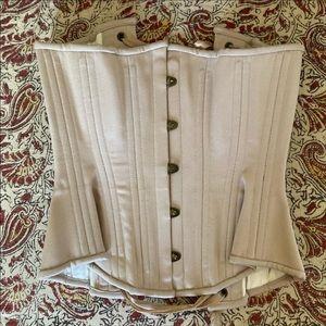 "Timeless trends hourglass novice beige 18"" corset"
